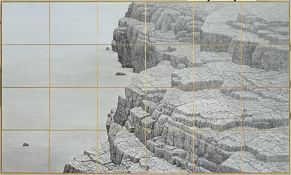 梁震明 岩外之意96x162cm 2013