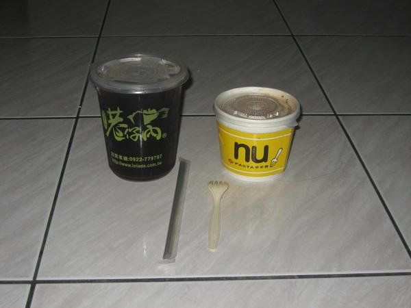 古早味紅茶+義大利麵