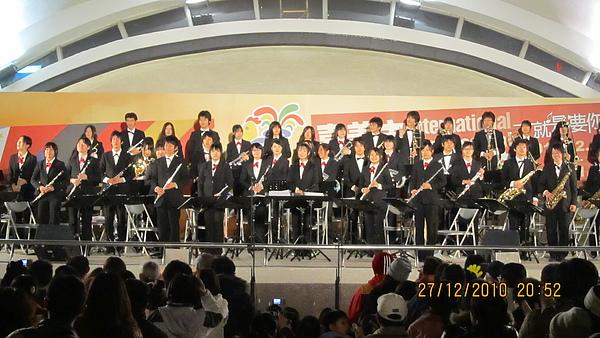 2010 嘉義市國際管樂節 - 日本靜岡大學