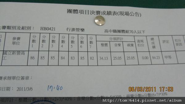 南區成績03