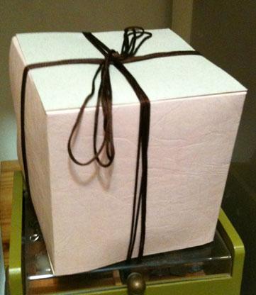 手工勞作正方紙盒
