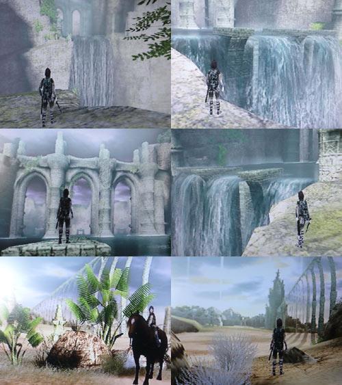 水瓶瀑布、北方之地
