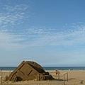 沙雕與藍天藍海