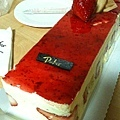 Jessica歡送Renee的草莓蛋糕 20110318