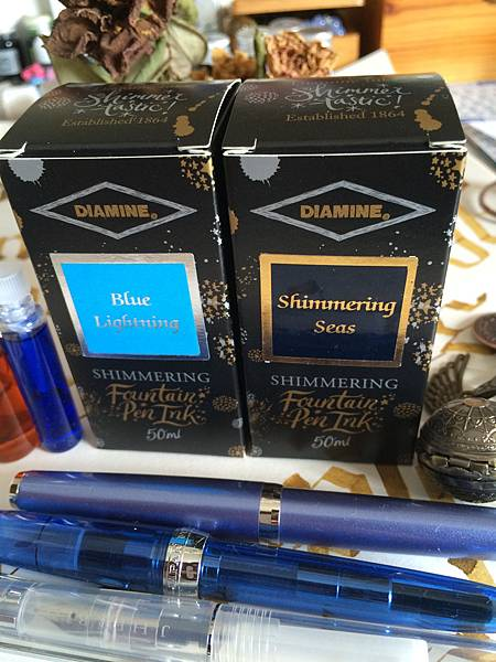 Diamine Blue Lightning