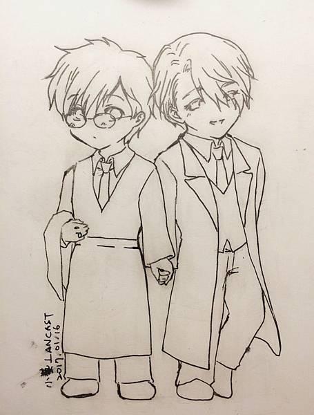 20170116 勇利 & Victor