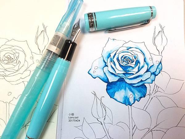 20170428 玫瑰%26;墨水