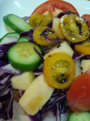 蔬果和風沙拉近攝.JPG