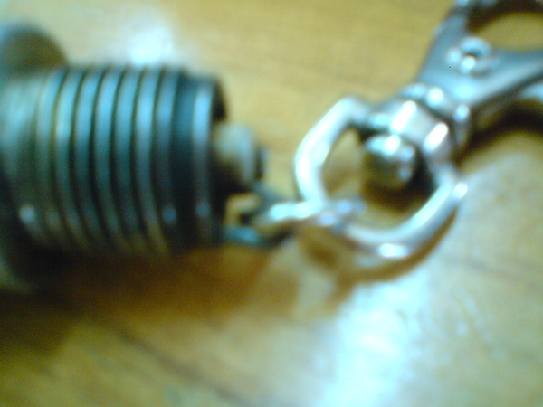 土砲製作-火星塞鑰匙圈1