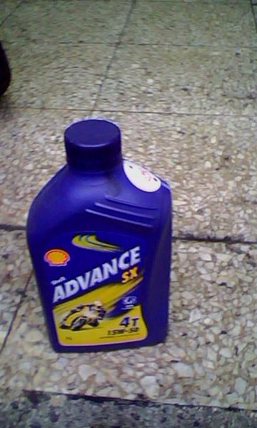 shell advance sx 15w50正面