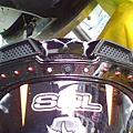 敗 SOL 27s獨角獸藍黑 scoyco手套開LED.jpg