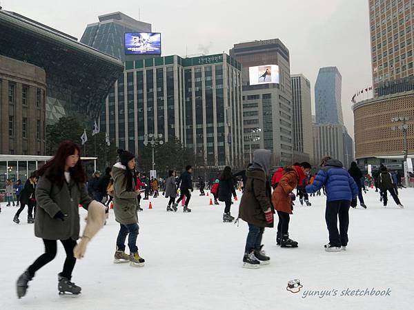 2013首爾廣場溜冰場