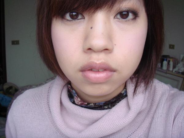 INTEGRATE的亮澤立體唇蜜筆PK291牛奶粉紅色 1