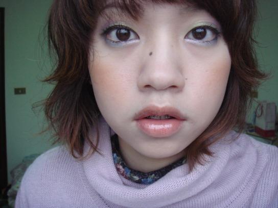 春妝預定款妝容 1