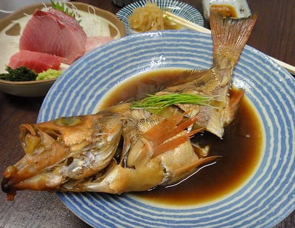 阿比的魚  好像是紅石斑魚