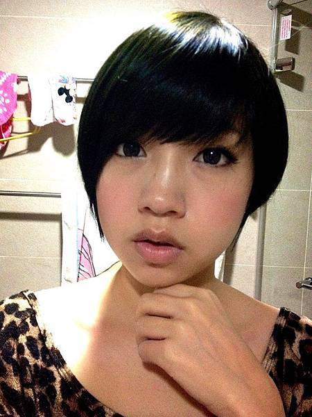 2013.02.26. 黑綠色髮色