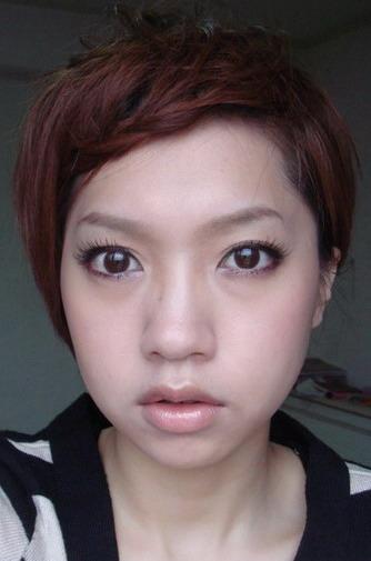2010.02.15. 仿VIVI雜誌妝容 ~ *