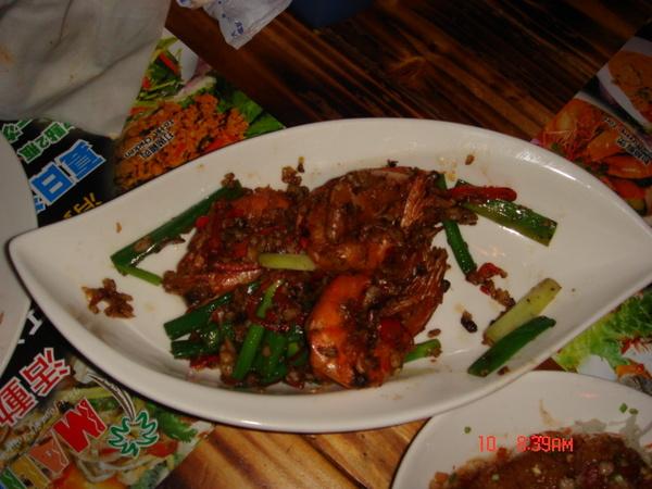 <Malibu>什麼蝦的...果然還是忘了菜名...