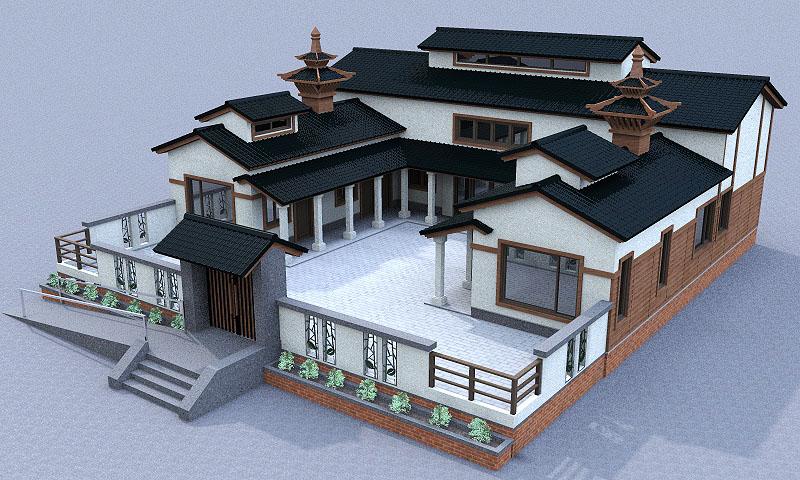 唐式建築-1