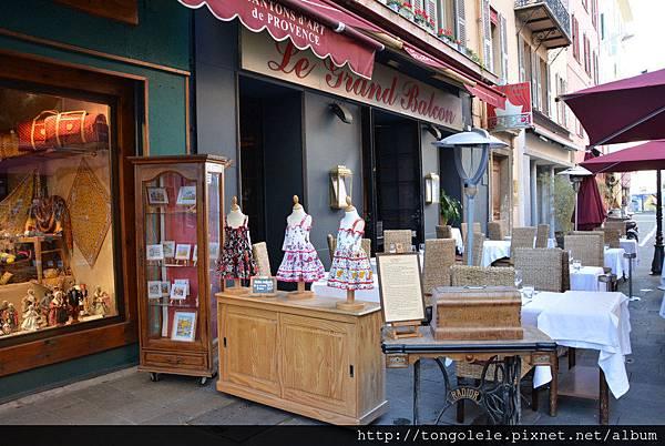 Nice market antique shop