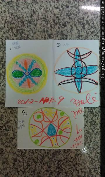 2012-Apr-09 在課堂上畫的連3張