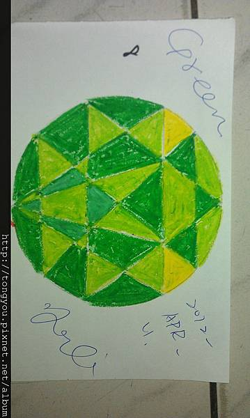 Green@右 / 很特別四個面向有不同的fu