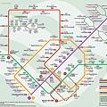 新加坡地鐵圖(英文/正體中文版)