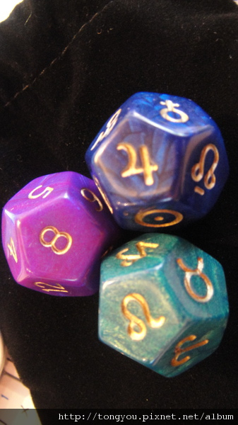 AstroDice占星骰:質感還不賴