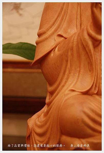 神像佛桌佛具用品展示~台檜淨慧觀音1尺6