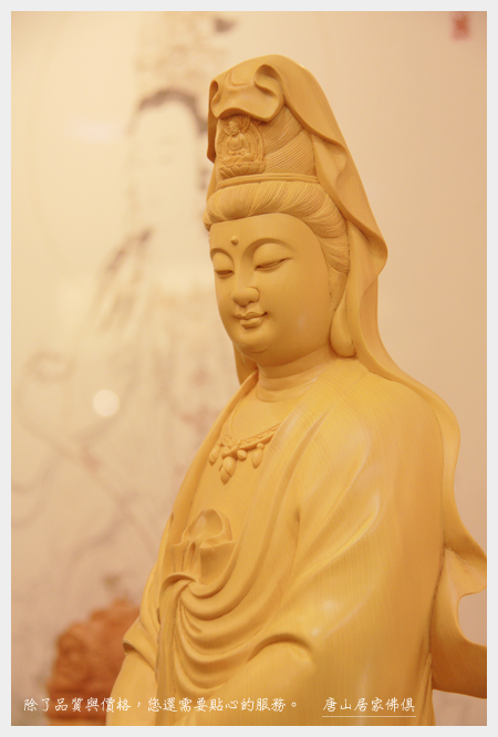 唐山神桌佛桌神像雕刻佛具佛像神明佛堂設計-11