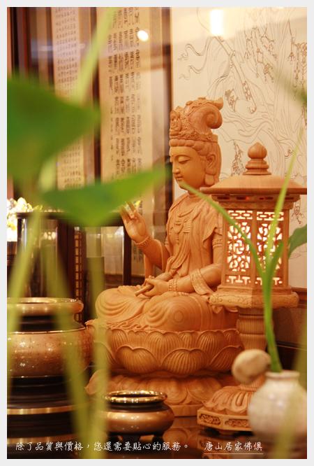 唐山神桌佛桌神像雕刻佛具佛像神明佛堂設計-06