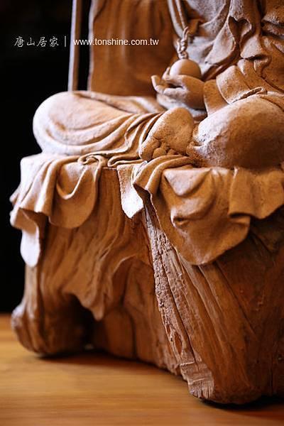 台灣傳統藝術與現代複合媒材創作-地藏王菩薩