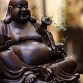 黑檀佛像彌勒菩薩-2