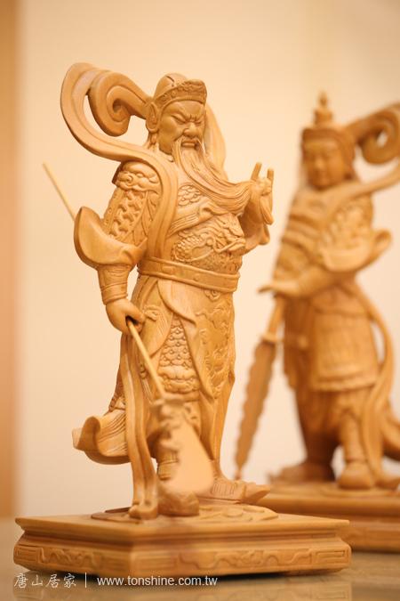 樟木8寸8神像佛像雕刻-可訂製其他尺寸