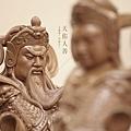 韋陀伽藍菩薩護法尊者,梢楠木神明雕刻
