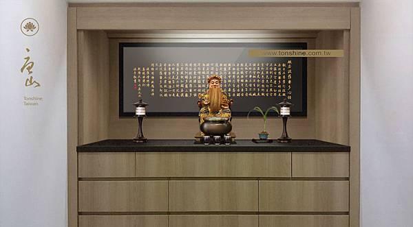 櫥櫃型神明桌訂做與尺寸規劃