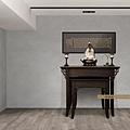 實木神桌訂做與佛堂設計