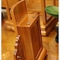 手工製-1尺肖楠木古式祖龕-後方