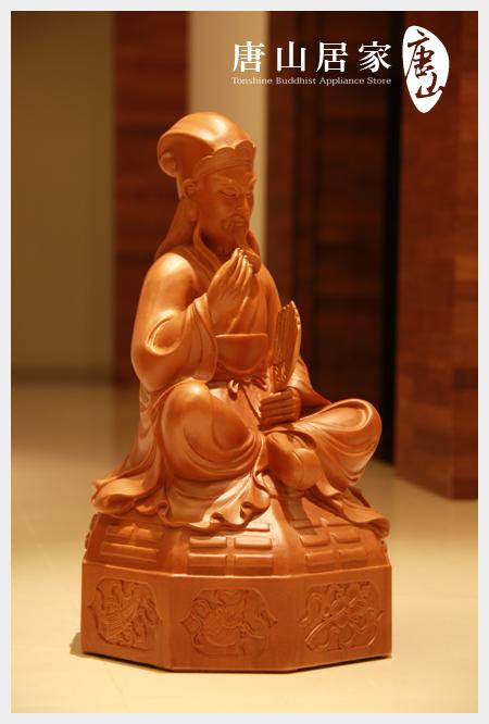 佛像雕刻-神機妙算-諸葛孔明