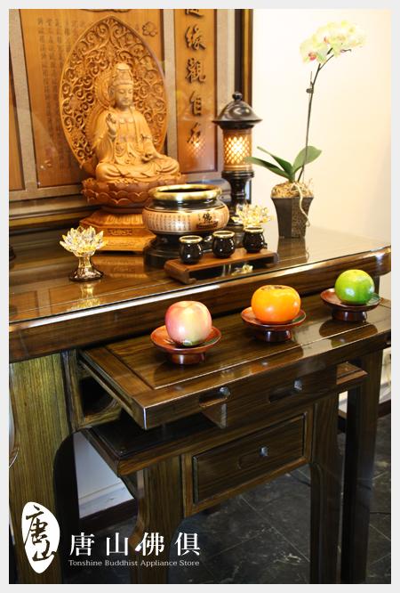 現代清式佛桌展示