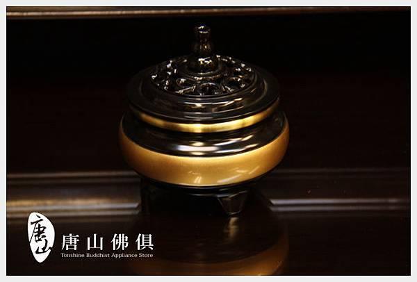 唐山居家佛具-3寸雙色淨爐(素面)加蓋