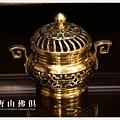 唐山居家佛具-吉花淨爐(加蓋)金