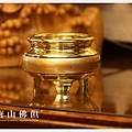 唐山居家佛俱-金邊淨爐(金色)2寸半