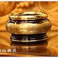 唐山居家佛具-3寸雙色吉祥如意淨爐(圓底座)