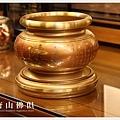 唐山居家佛具-5寸半粉紅珊瑚心經爐(寶華)