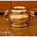 唐山居家佛具-3寸半粉紅珊瑚祖先爐(寶華)