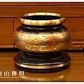 唐山居家佛具-5寸半粉金雙色心經爐(寶華)