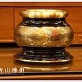 唐山居家佛具-5寸半粉金雙色蓮花爐