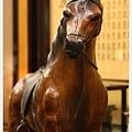 真皮製駿馬