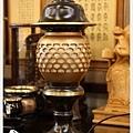 雙色黑粉晶神社燈(大)1尺25